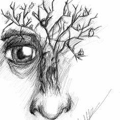 illustration #digital #art #nature  #soul #psychedelic