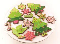 Retro Style Christmas Cookies