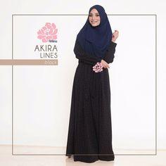 Gamis Amima Akira Dress Lines Black - baju gamis wanita busana muslim Untukmu yg cantik syari dan trendy . . Size Chart (XS) LD 92 PB 135 (S) LD 96 PB 137 (M) LD 100 PB 139 (L) LD 104 PB 141 (XL) LD 112 PB 144 . . Detail : - Material bahan : Wolpeach CREPE HQ (POLYESTER CREPE) bahannya flowy bisa swing-swing cocok untuk travelilng (ironless) - Dress depan model lipit 2 kanan-kiri kerah bulat Zipper depan perfect for #busuifriendly #nursingfriendly #gamisbusuifriendly - Kantong kanan kiri…