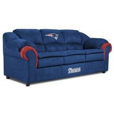 Imperial New England Patriots Pub Sofa $749.00