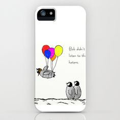 To+be+a+Flying+Penguin++iPhone+&+iPod+Case+by+Trinity+Bennett+-+$35.00