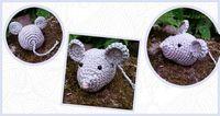 Gratis Nederlands Haakpatroon van een klein muisje. Voor het haakpatroon ga je naar www.haakinformatie.nl
