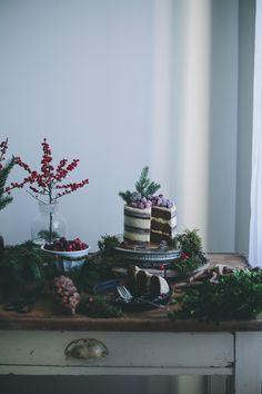 winter entertaining, sweet table