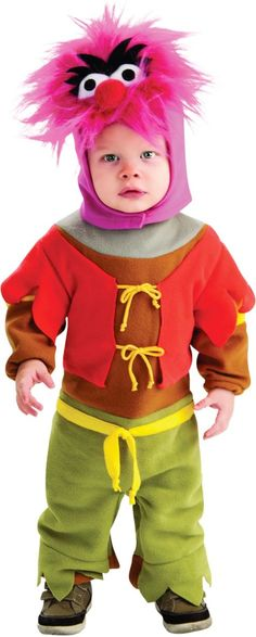 Toddler Boys Muppets Animal Costume