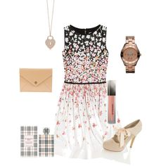 Romantic and innocent... good day wedding outfit