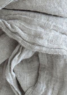 SALE Linen scarf natural van NordicStyle op Etsy