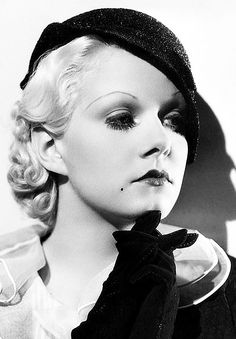 Jean Harlow dead @ 26 due to cerebral edema and uremia.