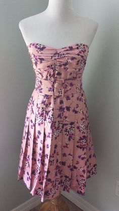 Express Vintage Style Strapless Dress, Size 4. For Swap or sale, $15