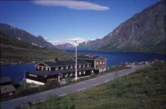 Gjendesheim lodge on east end of Lake Gjende - Norway
