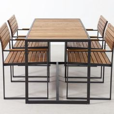 Bistro Chairs, Patio Chairs, Resin Patio Furniture, Outdoor Furniture Sets, Furniture Design, Furniture Ideas, Dining Furniture, Outdoor Rooms, Outdoor Dining