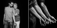 Grandchildren of Auschwitz survivors get the same numbers tattooed on their arms...incredibly moving. The slideshow can be found here: http://www.nytimes.com/interactive/2012/10/01/world/middleeast/01tattoo-slideshowwithaudio.html?ref=middleeast&_r=0