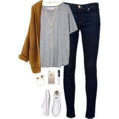 A fashion look from September 2015 featuring Organic by John Patrick t-shirts, J Brand jeans and Converse sneakers. Browse and shop related looks.