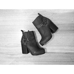 Kaitlyn with the Jeffrey Campbell Rum Moto Boot || Get the boot: http://www.nastygal.com/shoes-brands-jeffrey-campbell/rum-moto-boot?utm_source=pinterest&utm_medium=smm&utm_term=ngdib&utm_content=omg_shoes&utm_campaign=pinterest_nastygal