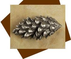 Anne at Home Large Pinecone Cabinet Knob