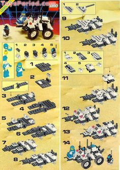 free lego instructions | Inventory of Parts Needed to Build LEGO 1621