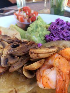 General Shrimp Tacos at Villa del Palmar Island of Loreto - Baja, Mexico