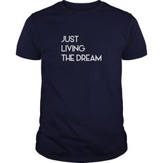Just Living Livin The Dream - Mens Premium T-Shirt  #gift #ideas #Popular #Everything #Videos #Shop #Animals #pets #Architecture #Art #Cars #motorcycles #Celebrities #DIY #crafts #Design #Education #Entertainment #Food #drink #Gardening #Geek #Hair #beauty #Health #fitness #History #Holidays #events #Home decor #Humor #Illustrations #posters #Kids #parenting #Men #Outdoors #Photography #Products #Quotes #Science #nature #Sports #Tattoos #Technology #Travel #Weddings #Women