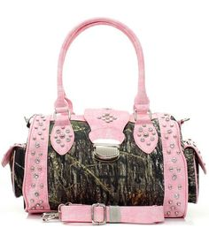 Pink Camo Handbag that you will never buy cuz its UGLY
