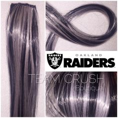 Indianapolis colts 18 clip in hair extension set 4 pieces oakland raiders 18 clip in hair extension set 4 pieces pmusecretfo Images