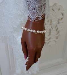 Perlenarmbänder - 50% Salzwasser Akoya Perle Citrin Armband - ein Designerstück von Morgentau-Schmuck bei DaWanda