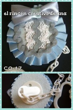 elrinconcreativodeana - 14 CHUPETEROS Decorative Plates, Crochet Hats, Tableware, Tiaras, Pacifiers, Hair Bows, Dressmaking, Projects, Dinnerware