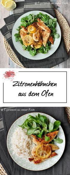 Zitronenhähnchen aus dem Ofen   Rezept   Kochen   Weight Watchers