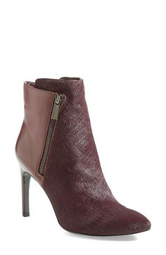 Vince Camuto 'Chantel' Asymmetrical Zip Bootie (Women) available at #Nordstrom GREY