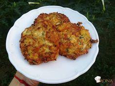 """Édesburgonyás - cukkinis - """"sajtos"""" tócsni (glutén-,tej-,tojás-,cukor-,szójamentes)"""