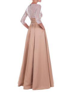 Sukienka w kolorze beżowym - Isabel Garcia - odzież damska - Limango