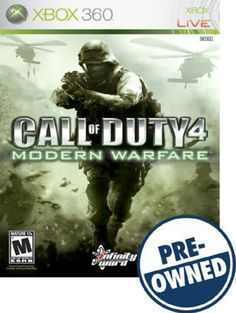 Call of Duty 4: Modern Warfare — PRE-Owned - Xbox 360