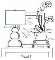 Image result for decorating nightstand by drawing on it
