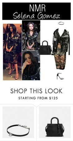 Outfit #690 by nmr135 ❤ liked on Polyvore featuring Coach 1941, Coach, StreetStyle, NYFW, selenagomez, coach and nmr