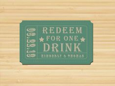 Redeem for one combo meal of your choice Wedding Favours, Wedding Reception, Wedding Decor, Wedding Ideas, Ticket Invitation, Invitations, Drink Ticket, Hawaiian Bbq, Coupon