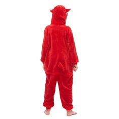 Red Animal Figure Fleece Boys Pajamas – alfagoody Animal Pajamas, Animal Costumes, Fleece Shorts, Boys Pajamas, White Bodies, Club Dresses, Animals For Kids, Lounge Wear