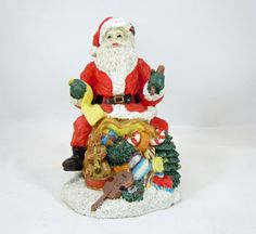 SALE Santa Claus Holiday Decor Christmas by RichardsRarityRealm
