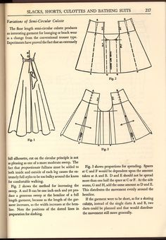 """How to make wide-legged pants.  Website has more under the tag """"summer pants."""""""