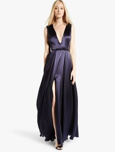 Satin / Georgette Gown  absolutely if they got a smaller size!