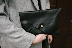 Every girl needs this.  leather clutch from Darby Small.  Kit available on site. No instructions unless kit is purchased