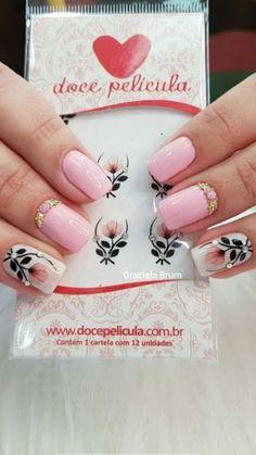 Uñas Beauty Nails, Beauty Makeup, Hair Beauty, Love Nails, Fun Nails, Diy Rhinestone Nails, Vernis Semi Permanent, Autumn Nails, Beautiful Nail Art