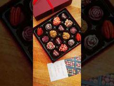 Vegan Chocolates. Personalized. I love you. I miss you. Gluten free. USA. Free shipping worldwide - YouTube Artisan Chocolate, Chocolate Box, How To Make Chocolate, I Miss You, I Love You, Vegan Chocolate Truffles, Personalised Chocolate, Handmade Chocolates, I Missed