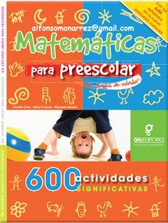 LIBROS: 600 ACTIVIDADES DE MATEMÁTICAS PARA PREESCOLAR DE ...