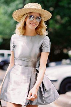 Elena Perminova, before Dior Couture, Paris, July 2014.
