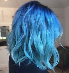 18 new ideas for short blue hair beautiful – 18 new ideas for short blue hair … – hair bangs long Girl Blue Hair, Bright Blue Hair, Short Blue Hair, Dyed Hair Blue, Ombre Hair Color, Cool Hair Color, Light Blue Ombre Hair, Blue And Pink Hair, Short Dyed Hair
