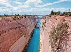 Η ιστορία του Ισθμού της Κορίνθου Old Photos, Greece, Amazing, Water, Outdoor Decor, Photography, Beautiful, Articles, Live