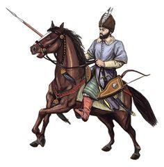 Wallachian cavalry, 17th century