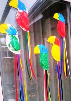 Ideas Bird Crafts Preschool Reading For 2019 Preschool Crafts, Fun Crafts, Crafts For Kids, Arts And Crafts, Preschool Jungle, Kids Diy, Decor Crafts, Daycare Crafts, Toddler Crafts