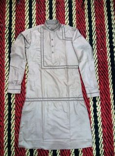 Designer kurta with lace work by genius mens wear