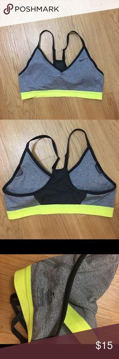 Nike Sports Bra Nike sports bra only worn a couple times. Super comfortable. Nike Intimates & Sleepwear Bras