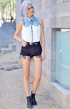 Wonderful way to translate western wear into street fashion