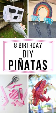 DId you know that you can make Birthday DIY Piñatas or a pinata out of cardboard, out of a cereal box, and with a balloon? Learn those tips and more at getyourholidayon.com. Baseball Birthday Party, Birthday Party For Teens, Sleepover Party, Birthday Diy, Happy Birthday Wishes, Mermaid Birthday, Birthday Ideas, Birthday Party Centerpieces, Birthday Decorations